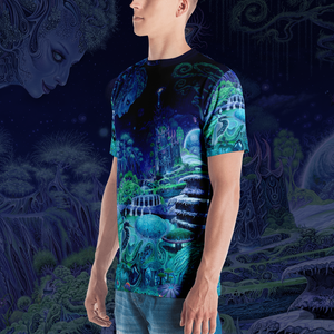 The Emerald Queen all over print shirt by Mark Cooper Art