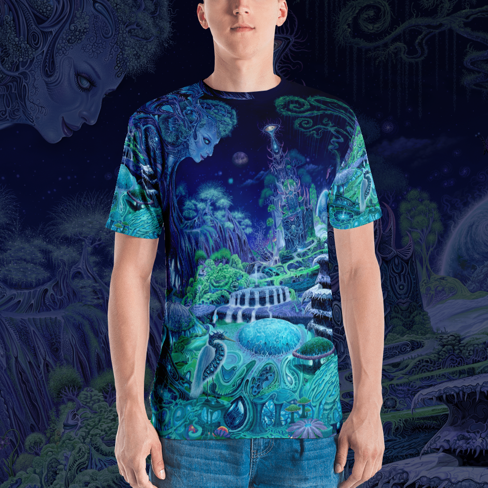Image of The Emerald Queen all over print shirt by Mark Cooper Art