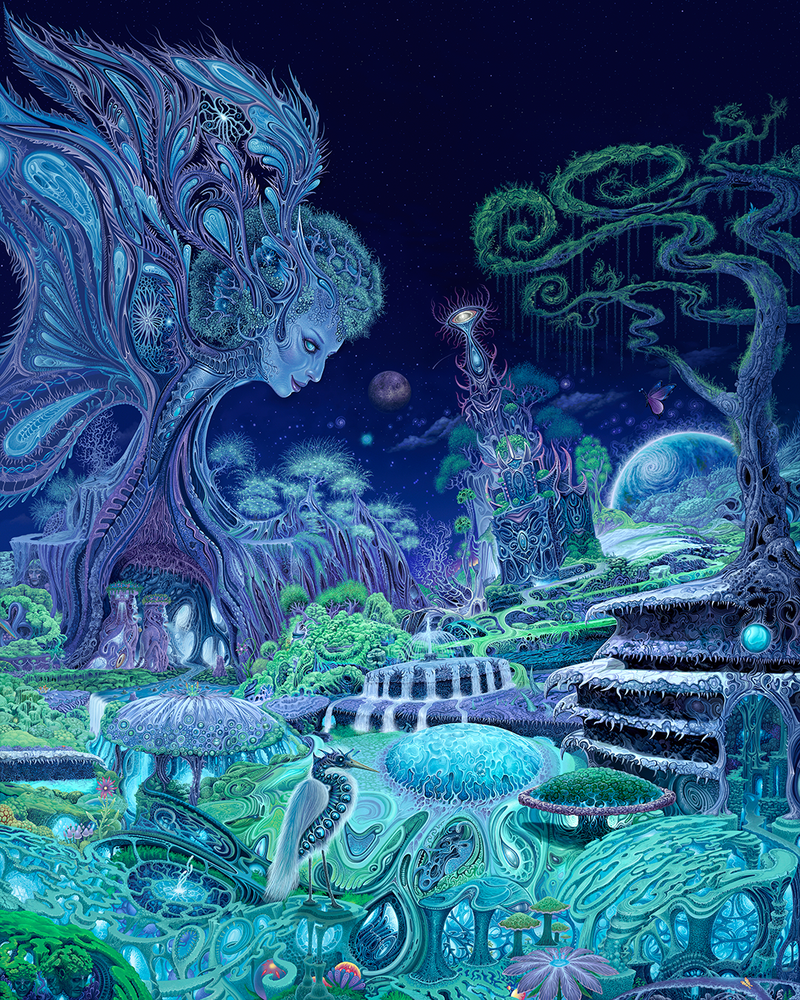 Image of The Emerald Queen 16 x 20 Poster by Mark Cooper Art