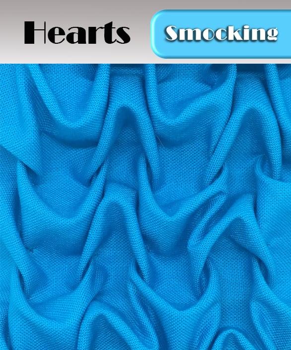 PDF - Heirloom Smocking Pattern - 10 - Hearts