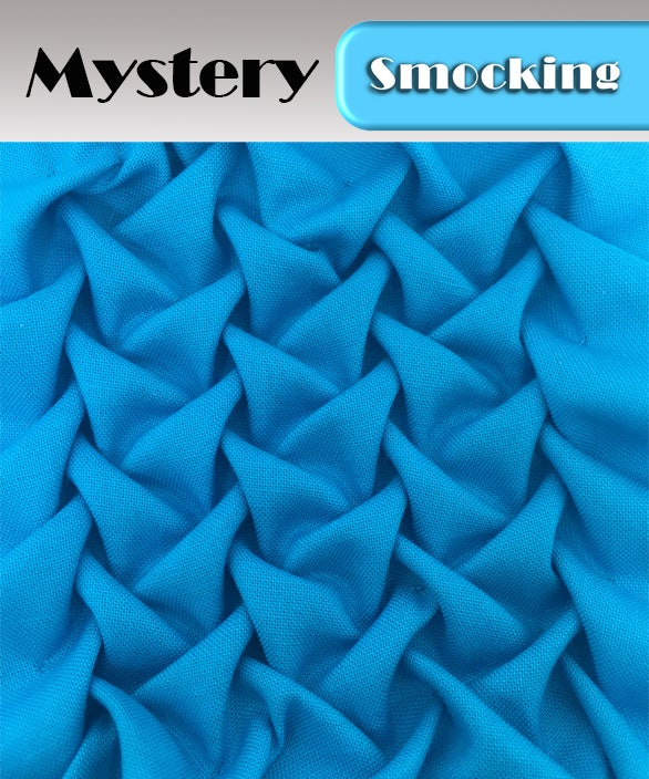 Image of PDF - Heirloom Smocking Pattern - 11 - Mystery