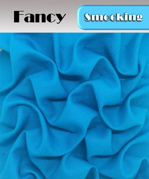 PDF- Heirloom Smocking Pattern - 12 - Fancy