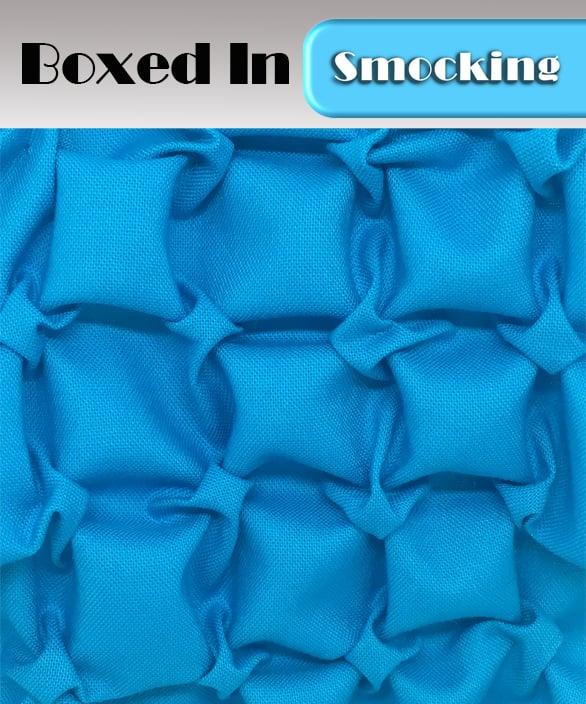 PDF - Heirloom Smocking Pattern - 14 - Boxed In