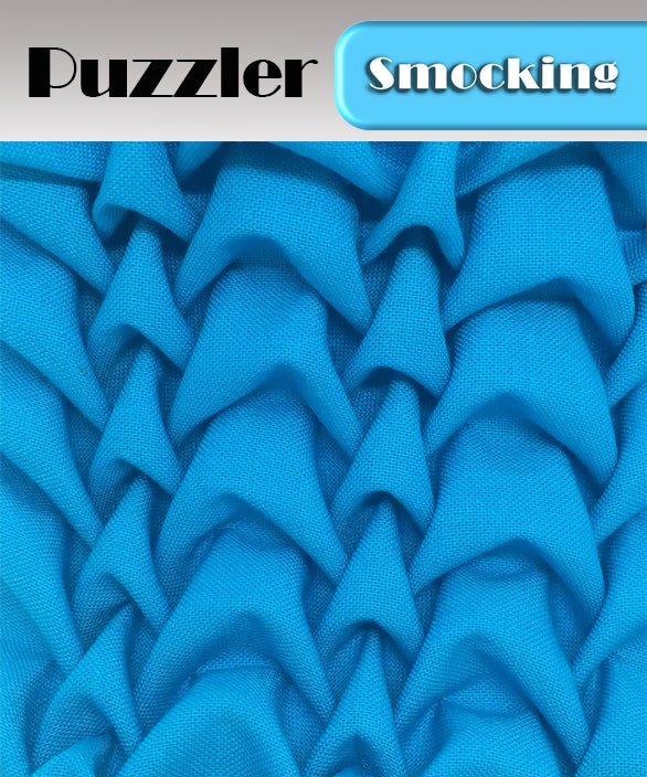Image of PDF - Heirloom Smocking Pattern - 15 - Puzzler