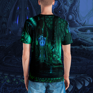 Temple of Horrors all over print shirt by Mark Cooper Art