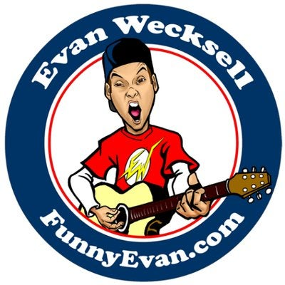 Image of Evan Wecksell Logo Sticker