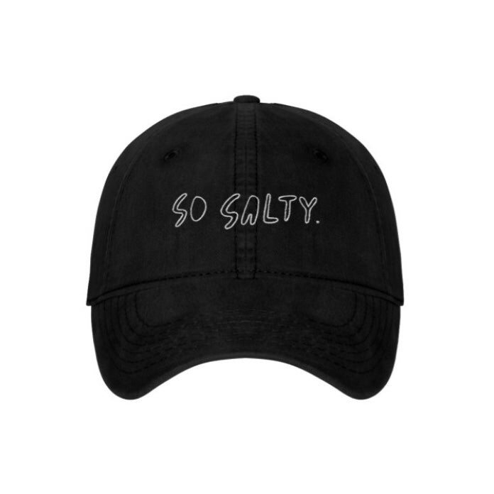 Image of SO SALTY EMBROIDERED CAP