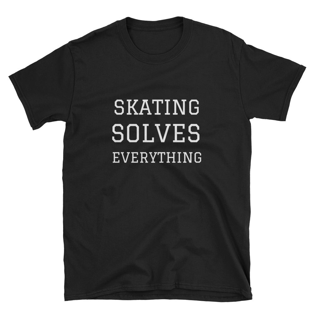 Image of Shipyard Skates SKATUNG SOLVES EVERYTHING Tee
