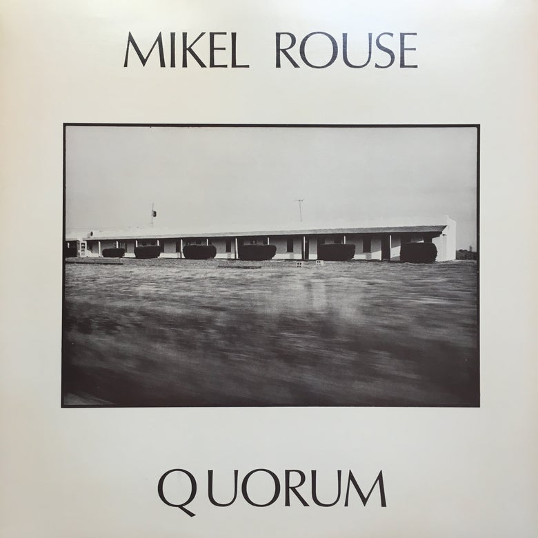 Image of Mikel Rouse ‎– Quorum