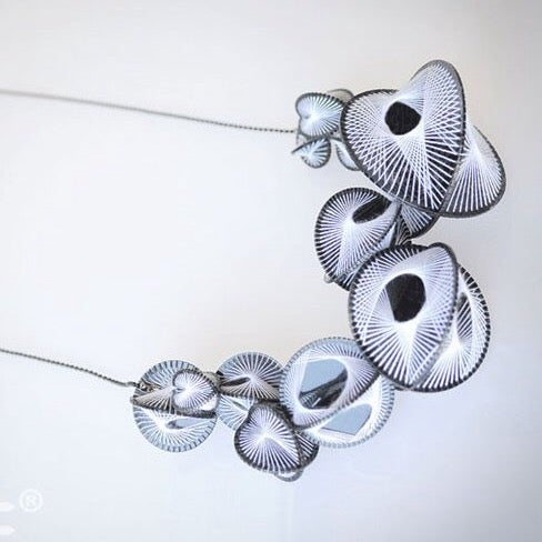 Image of naum BW necklace