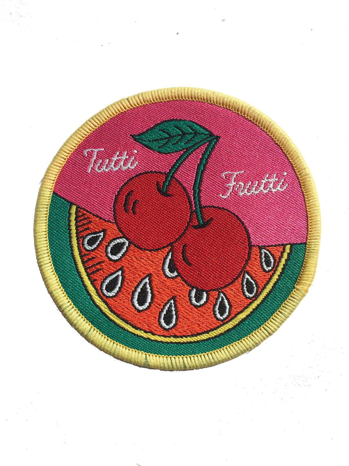 Tutti Frutti Iron on Patch