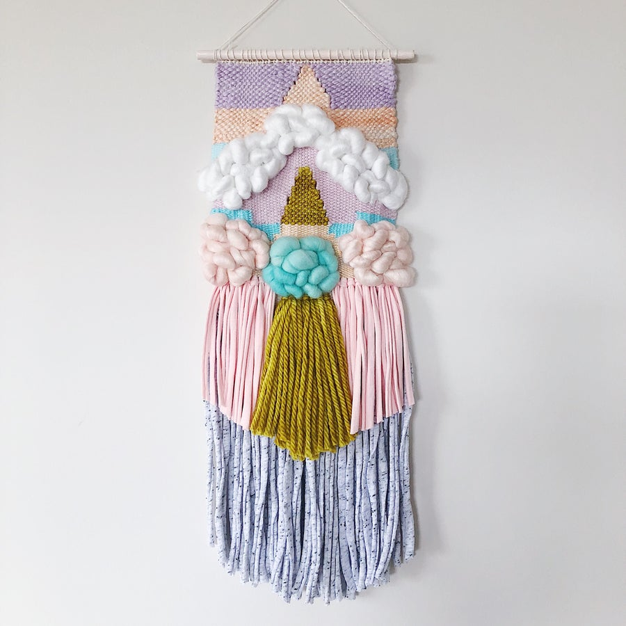 Image of Woven Wall Hanging - Sorbet Dreams