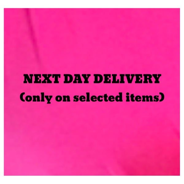 Image of Next working day Delivery (if purchased before 2.45)