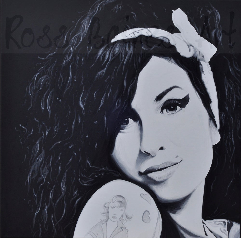 Image of AMY (2x2ft or 3x3ft canvas print)