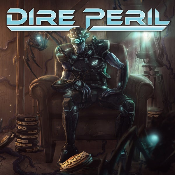 Image of DIRE PERIL - The Extraterrestrial Compendium