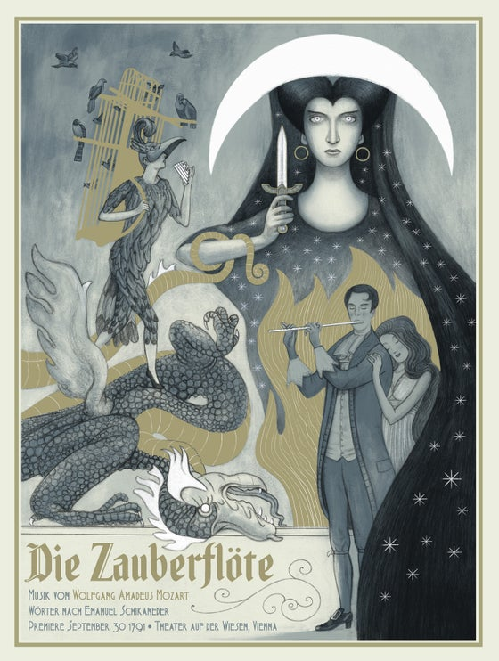 Image of Die Zauberflöte (The Magic Flute) by Jonathan Burton