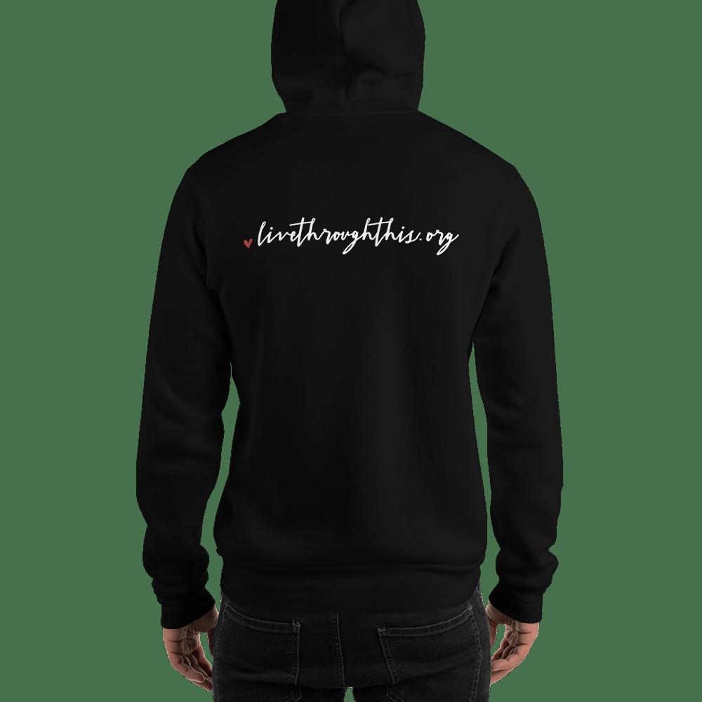 Image of Unisex Stay Hoodie - Black