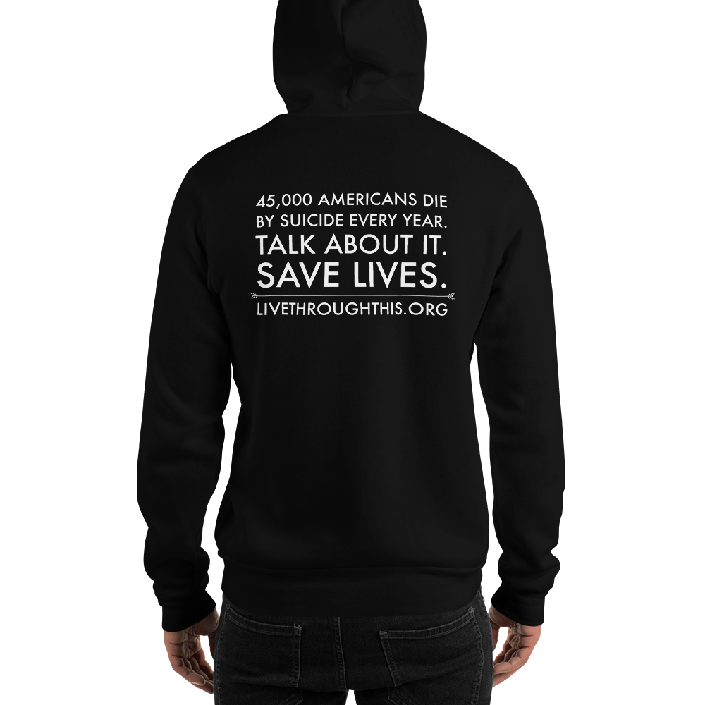 Image of Unisex Survivor Hoodie - Black