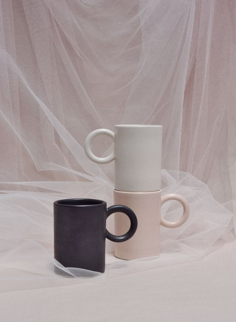 Image of Round handle mug / M