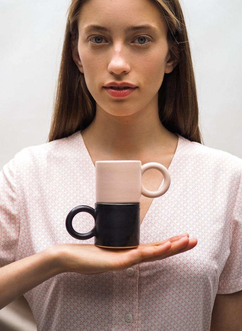 Image of Round handle mug / S SS18