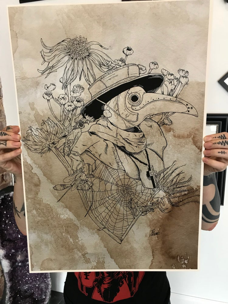 Image of 'Plague Doctor' by Desiree Mancia