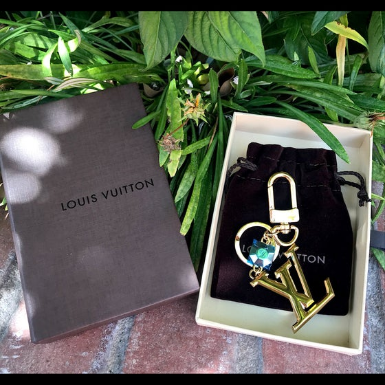 Image of Louis Vuitton LV Facettes Bag Charm and Key Holder