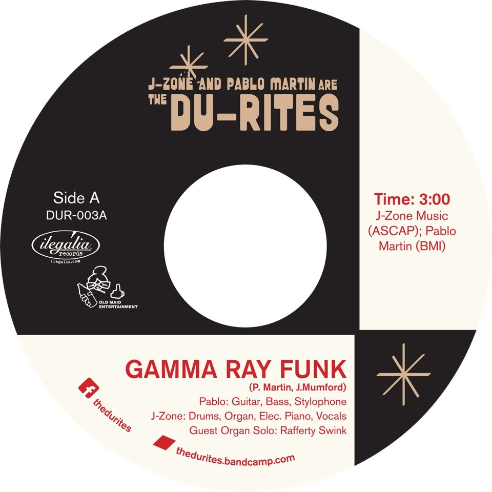 "Image of Gamma Ray Funk / Fish Sammich - 7"" Vinyl"