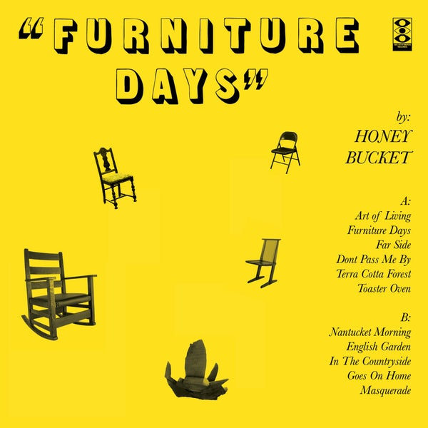 "Image of Honey Bucket ""Furniture Days"" LP"