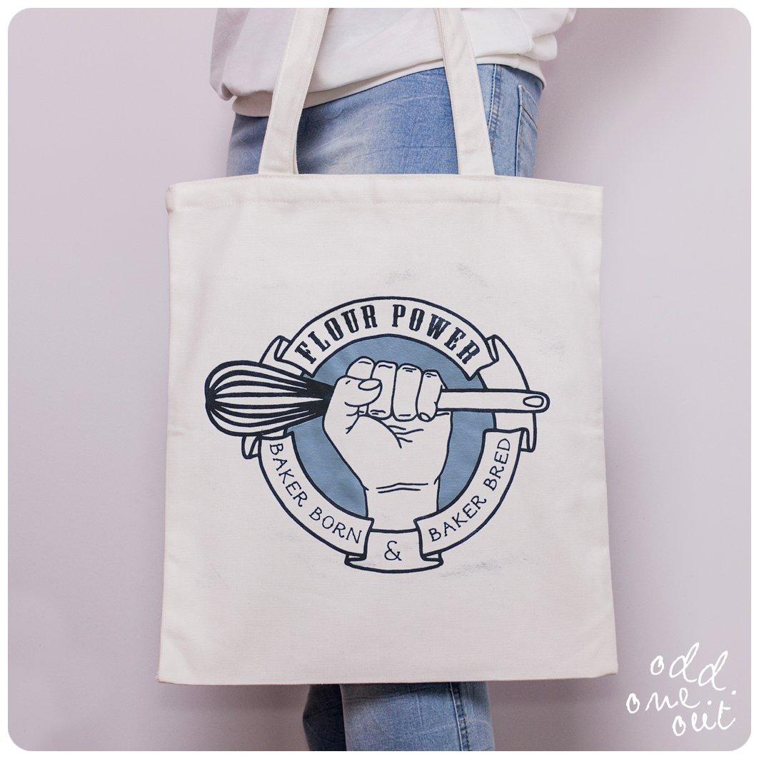 Image of Flour Power - Tote Bag
