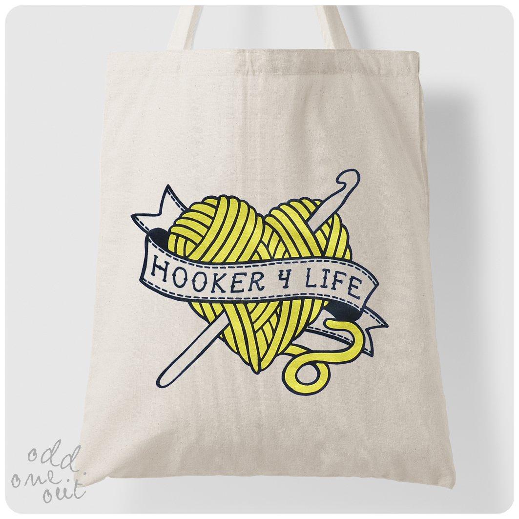 Image of Hooker 4 Life - Tote Bag