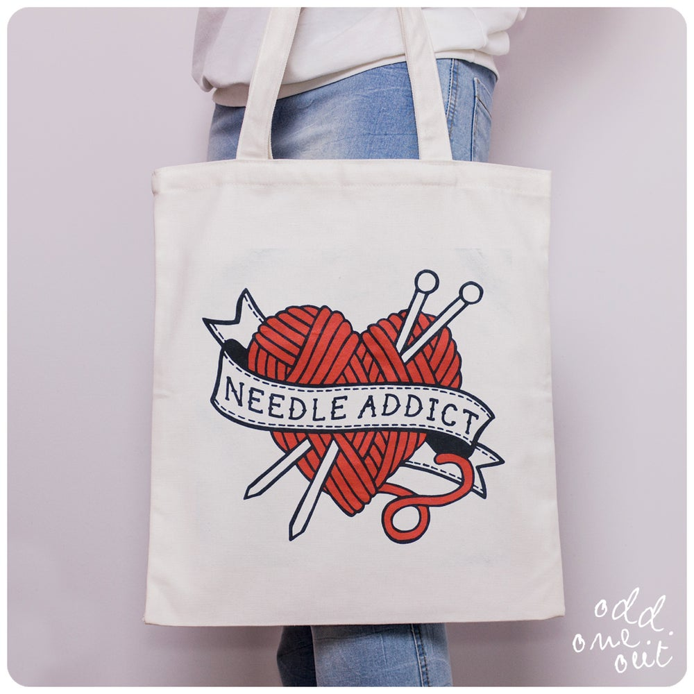 Image of Needle Addict - Tote Bag