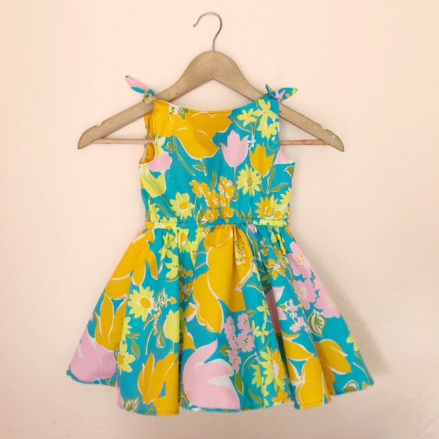 Image of Garden Party Picnic Dress, Romper or Tennis Dress