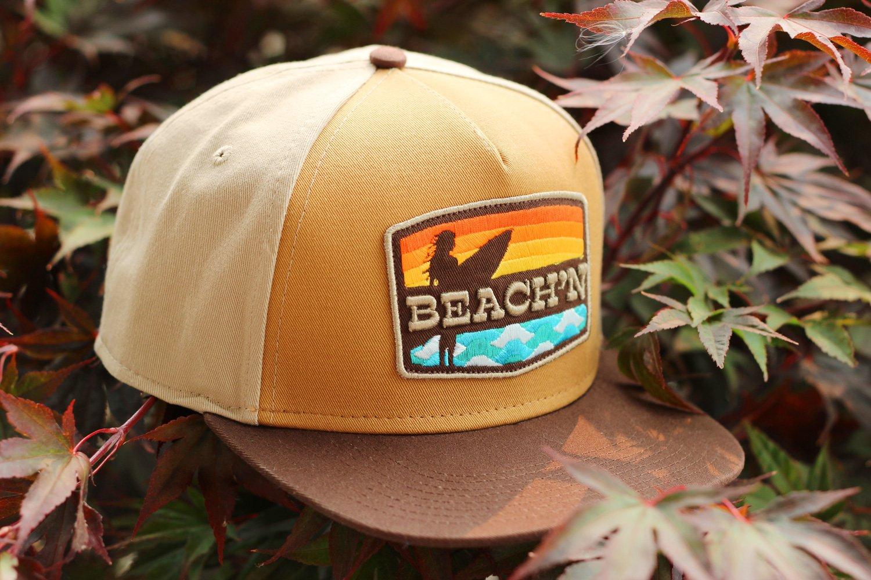 Image of BEACH'N HAT / Brown Solid