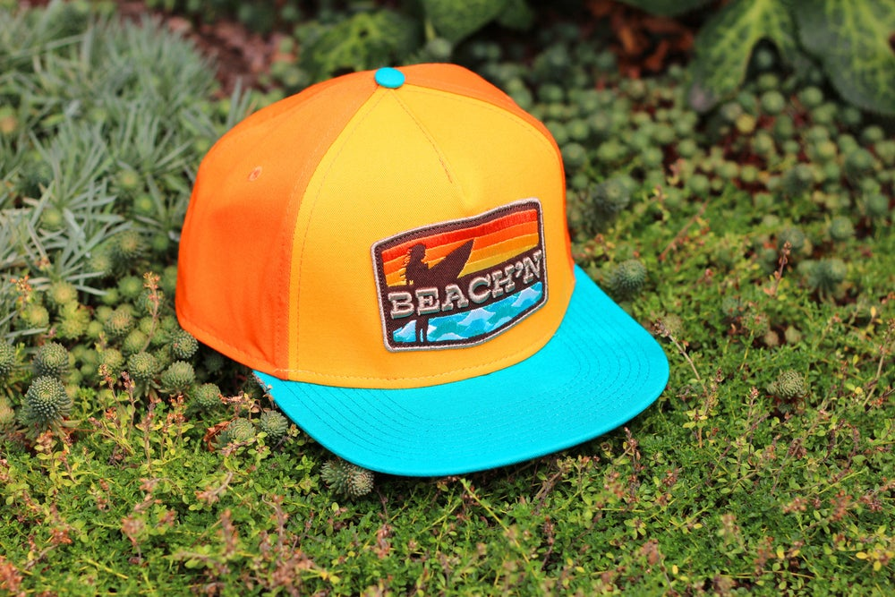 Image of BEACH'N HAT / Orange Solid