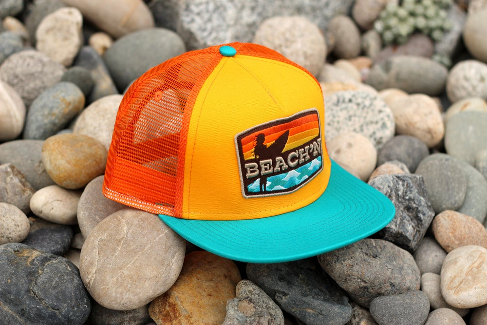 Image of BEACH'N HAT / Orange Mesh