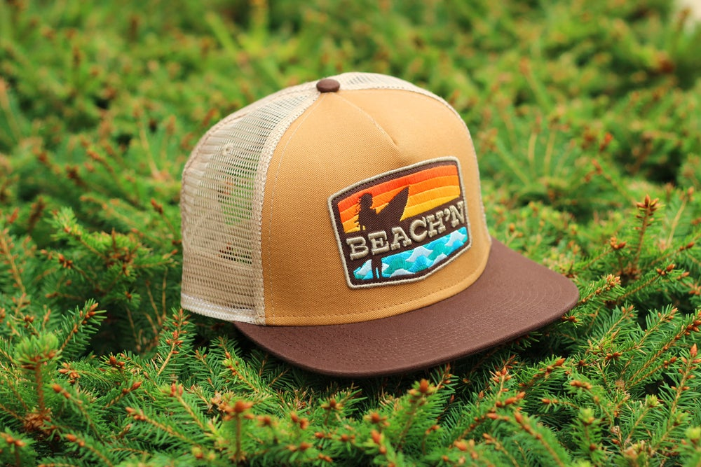 Image of BEACH'N HAT / Brown Mesh