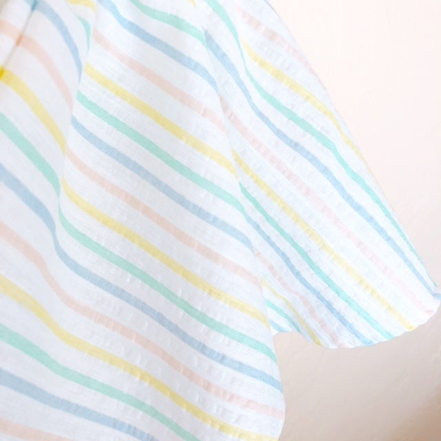 Image of RTS Candy Stripe Picnic Dress