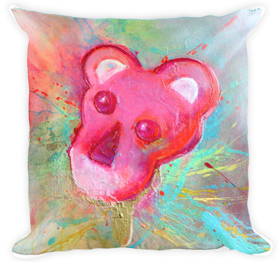 Image of Pink Meltdown [Pillow] *NEW item*