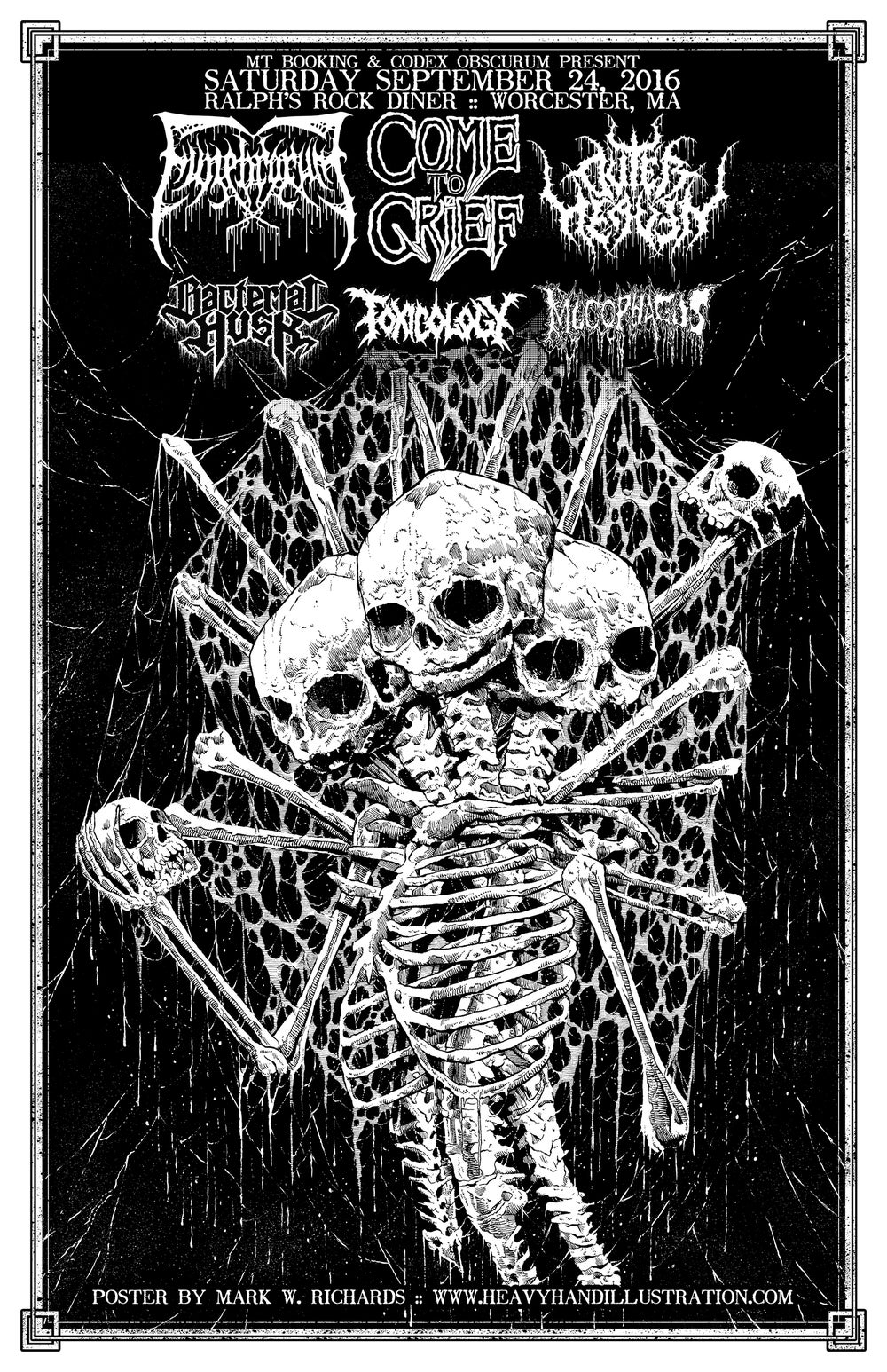 Image of Funebrarum Poster