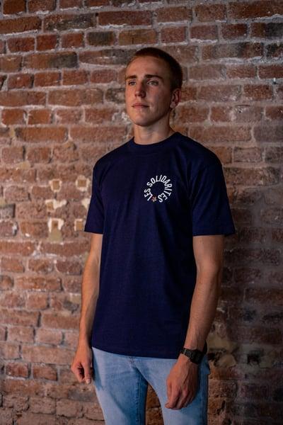 "Image of T-shirt ""Les Solidarités"" 2018 - Homme"