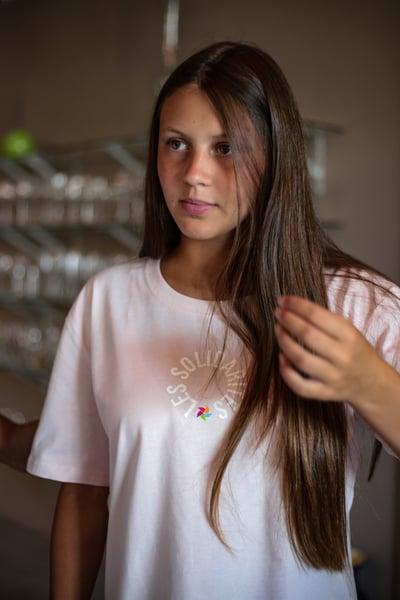 """Image of T-shirt """"Les Solidarités 2018"""" - Femme"""