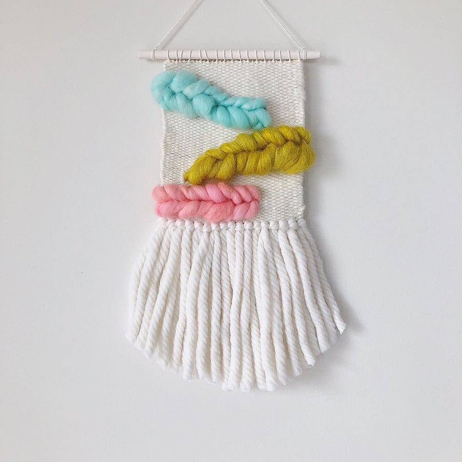 Image of Woven Wall Hanging - Bambino