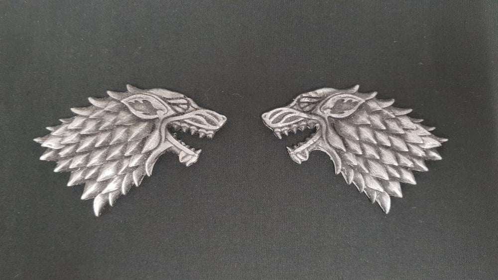 Image of Game Of Thrones House Stark Dire Wolf Jon Snow, Cosplay, Accessory