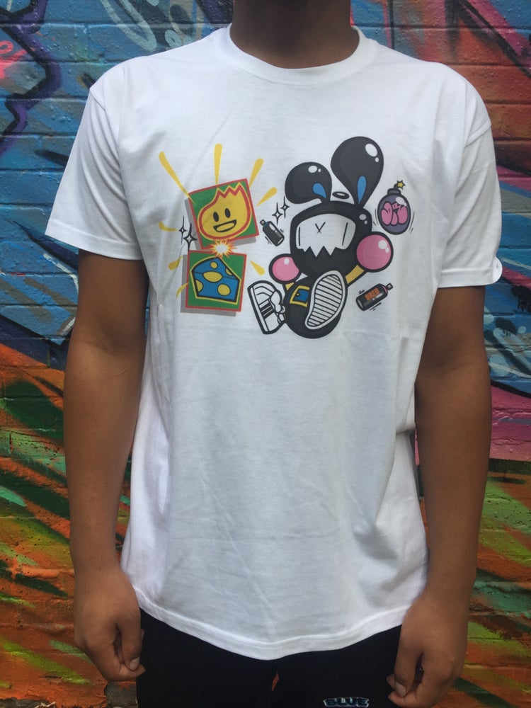 Image of New BlueCheese & DredSmc Bombaman Tee