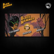Image of Black Hammer: SIGNED Limited Edition Black Hammer Series I pin set! - TEMPORARILY SOLD OUT