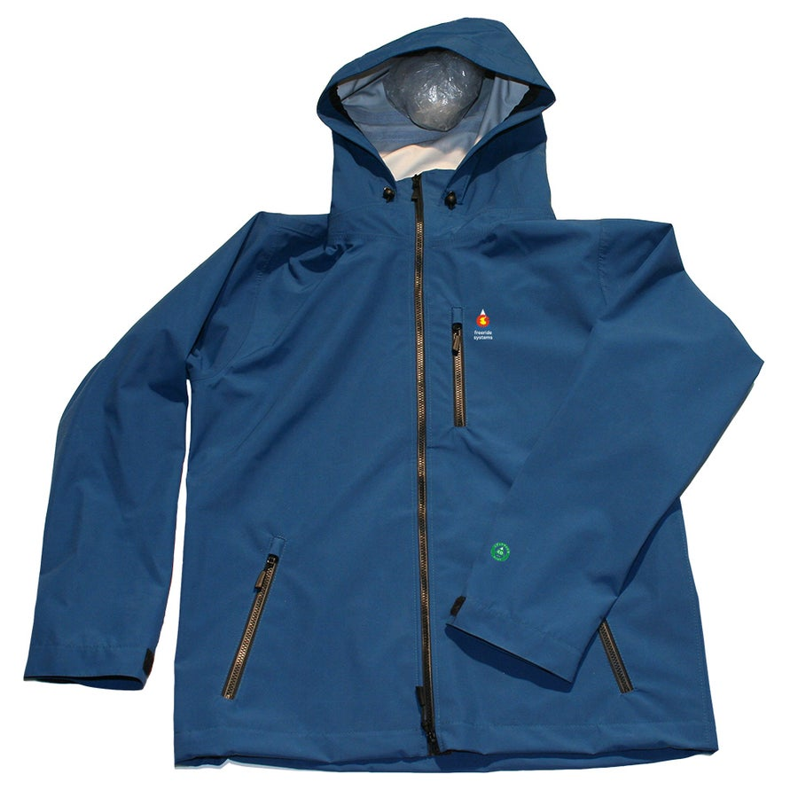 Image of Antero II Plus LTE Hardshell Polartec Neoshell Light Touring Jacket Ice Blue