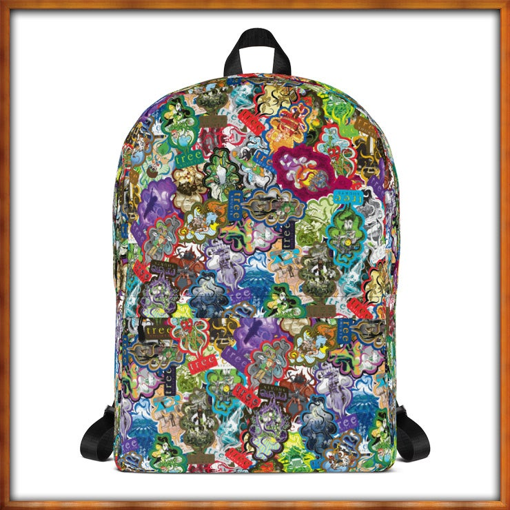 Image of All Over Trees Backpack