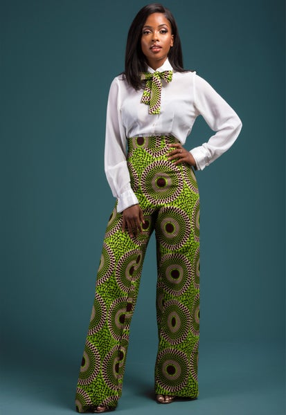 Image of Chenai High Waist Trousers