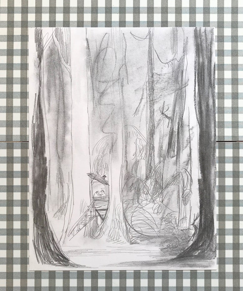 Image of Draft— Quiet treehouse