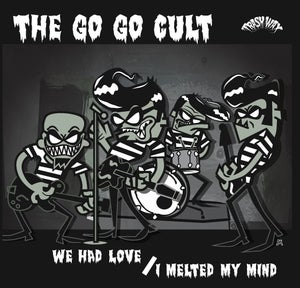 "Image of OUT NOW. 7"" The Go Go Cult : We Had Love / I Melted My Mind. Ltd Edition 300 copies."